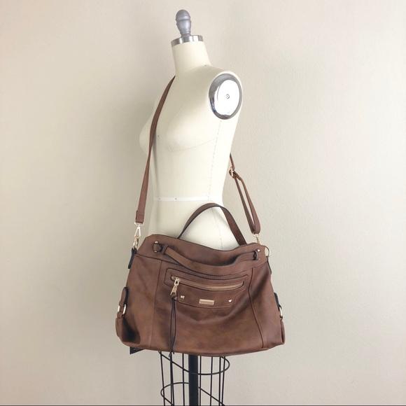 679bf8084697 Realer PU Leather Crossbody Shoulder Bag